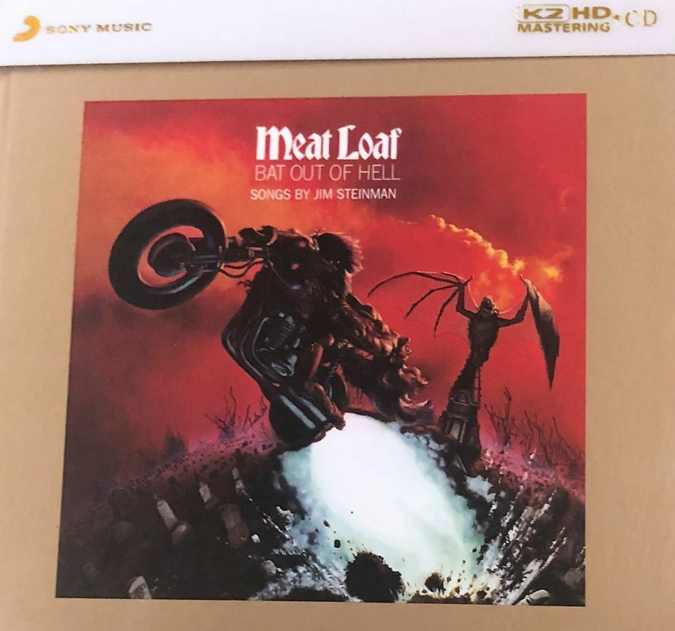 MEAT LOAF - BAT OUT OF HELL K2HD (CD) MADE IN JAPAN