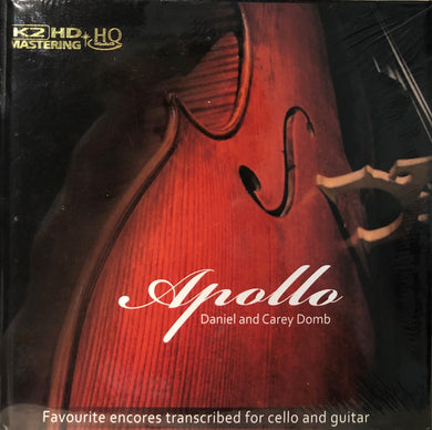 APOLLO - DANIEL AND CAREY DOMB (K2HD) CD MADE IN JAPAN