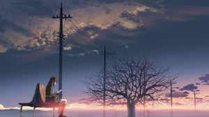 5 Centimeters Per Second 秒速5厘米 2007 Animation H.K Version  (BLU-RAY) with Eng Sub (Region A)