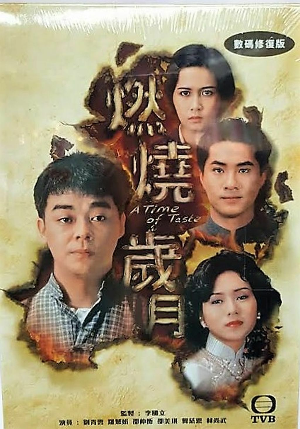 A TIME OF TASTE 燃燒歲月 1990  TVB DVD (1-20 end) NON ENGLISH SUBTITLES  ALL REGION