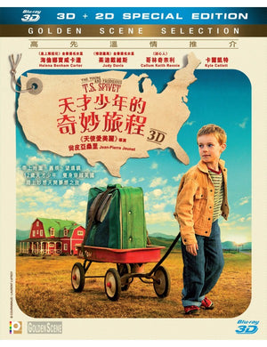 The Young and Prodigious T.S Spivet 天才少年的奇妙旅 2013 (3D + 2D) BLU-RAY (Region A)