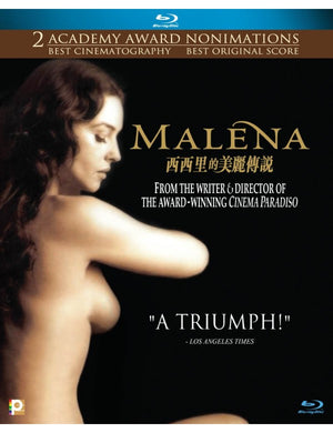 Malena 西西里的美麗傳說 2000 (Italian Movie) BLU-RAY with English Subtitles (Region A))