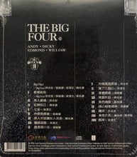 Load image into Gallery viewer, THE BIG HITS BIG FOUR - 梁漢文,  蘇永康, 張衛健 CANTONESE (CD)