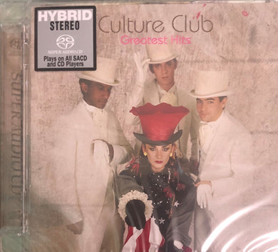 CULTURE CLUB - GREATEST HITS (SACD) MADE IN JAPAN