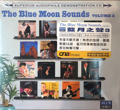 THE BLUE MOON SOUNDS VOL 3 - VARIOUS ARTISTS (CD) MADE IN GERMANY