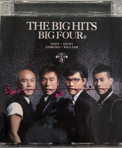 THE BIG HITS BIG FOUR - 梁漢文,  蘇永康, 張衛健 CANTONESE (CD)