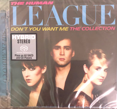 HUMAN LEAGUE - DON'T YOU WANT ME THE COLLECTION (SACD) MADE IN JAPAN
