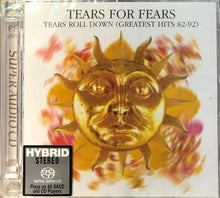 Load image into Gallery viewer, TEARS FOR FEARS - TEARS ROLL DOWN GREATEST HITS 82-92 (SACD) MADE IN JAPAN