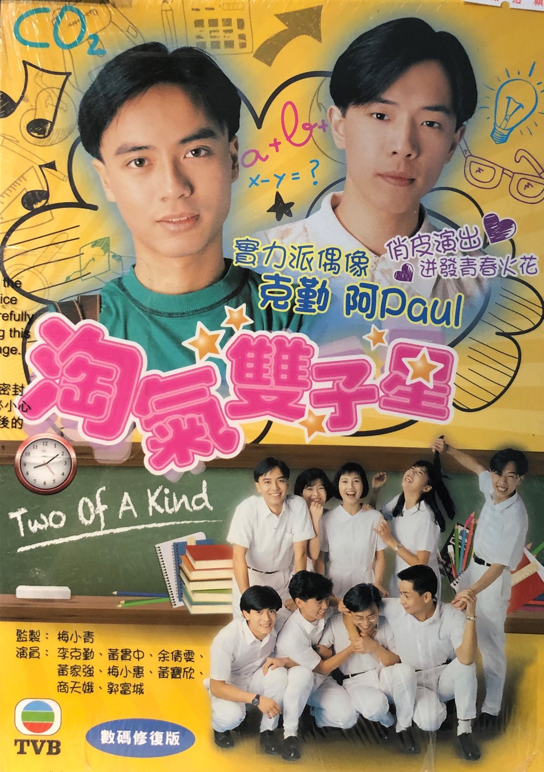 TWO OF A KIND 淘氣雙子星 TVB (2DVD) NON ENGLISH SUB (REGION FREE)