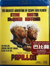 Load image into Gallery viewer, Papillon 1973 (H.K Version) BLU-RAY Steve McQueen, Dustin Hoffman (Region A) 巴比龍