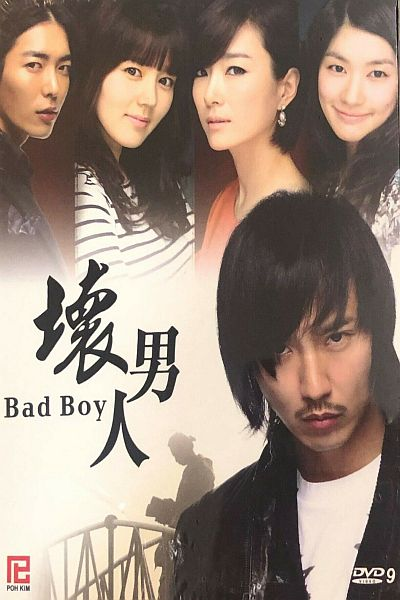 BAD BOY 2010  DVD (KOREAN DRAMA) 1-17 EPISODES WITH ENGLISH SUBTITLES (ALL REGION) 壞男人