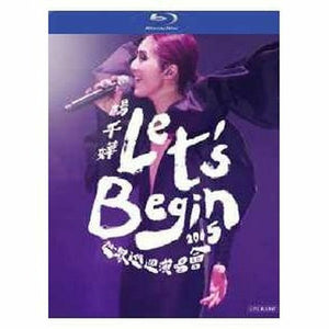 Miriam Yeung - Let's Begin 楊千嬅 世界巡迴演唱會(BLU-RAY) Region Free