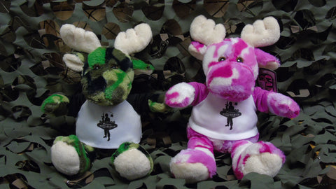 BFV Plush Camo Moose
