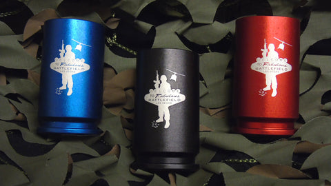 30 MM A-10 BFV Logo Shot Glass