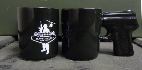 BFV Logo Pistol Grip Shot Glass