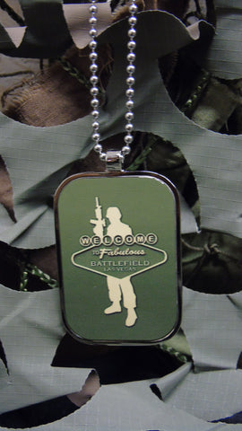 BFV Logo Dog Tag Necklace