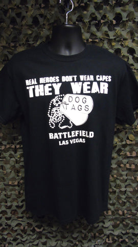 BFV Heroes Wear Dog Tags T-Shirt