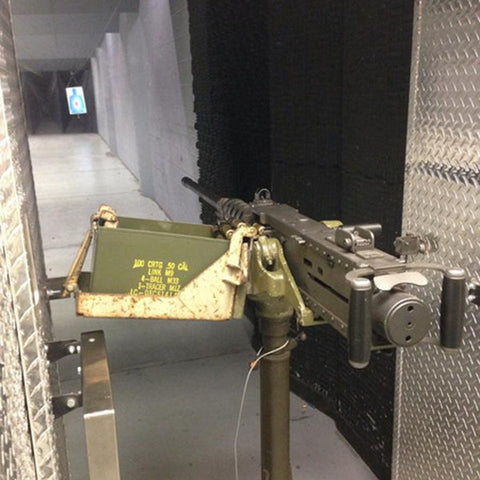 "M2 Browning ""Ma Deuce"" Machine Gun at Battlefield Vegas"