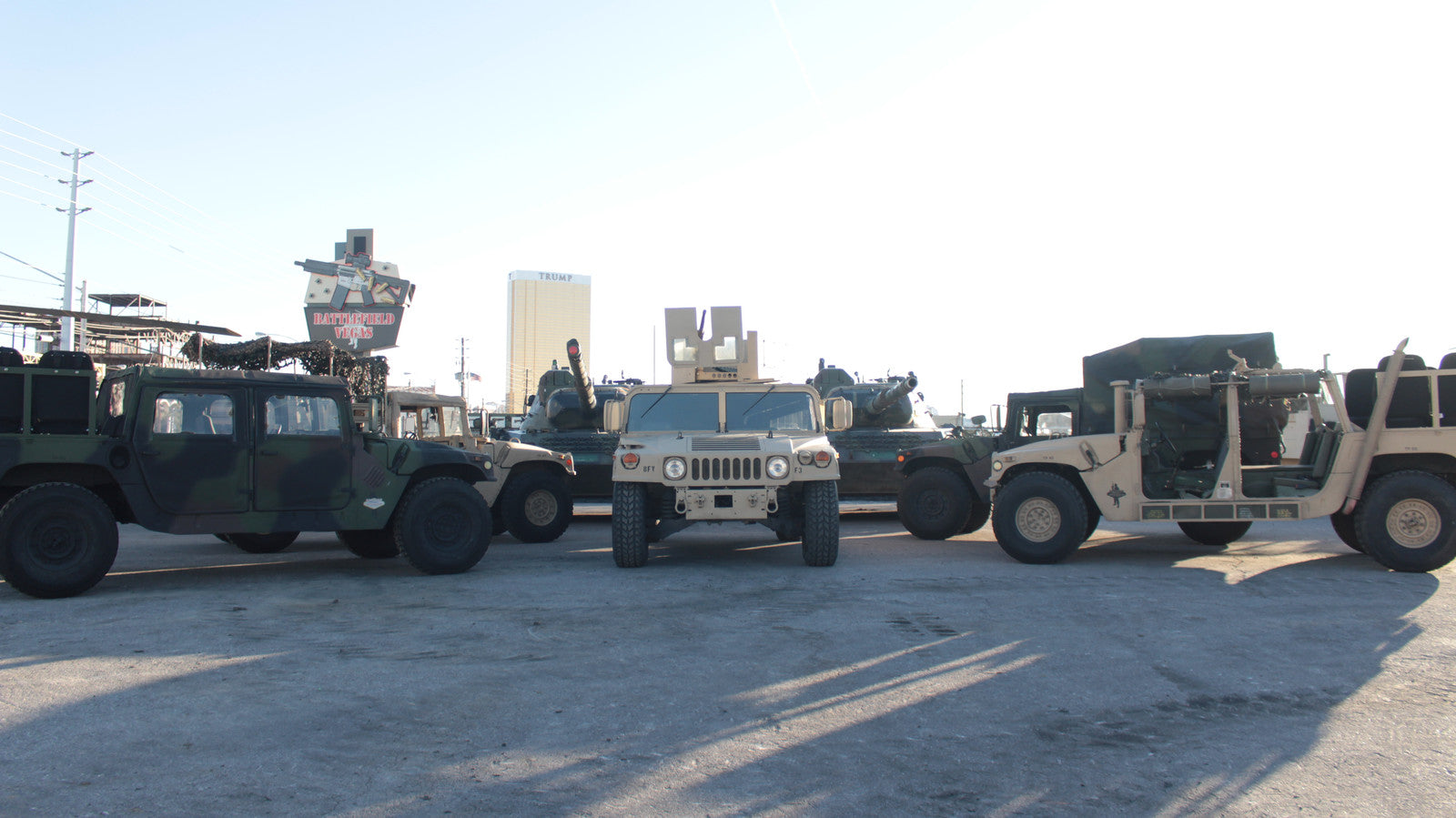 FREE Humvee Rides. The Coolest Pick-Up and Drop-Off In Las Vegas!
