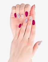 Jewel ulta acrylic gel nail polish art design and nail colour stickers store | Kyutee.com
