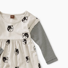Load image into Gallery viewer, Printed Layered Sleeve Baby Dress