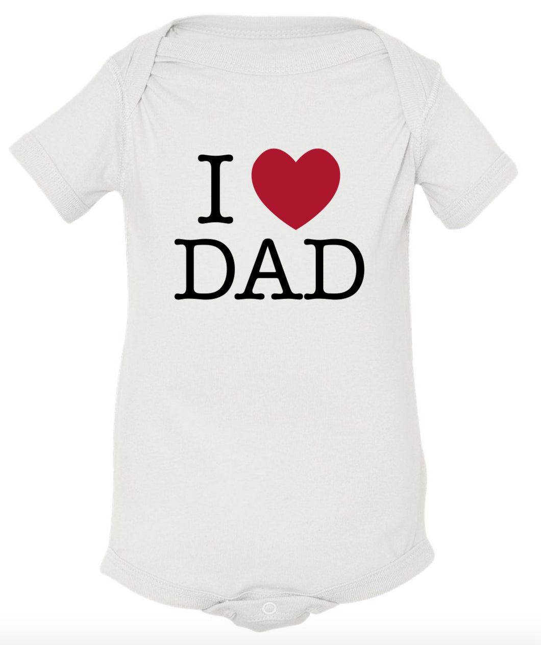 I (heart) Dad Bodysuit