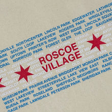 Load image into Gallery viewer, Roscoe Village Canvas Bag