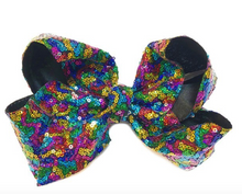 Load image into Gallery viewer, Sequin Hair Bow