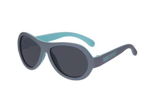 Two Toned Aviators Sunglasses - Sea Spray