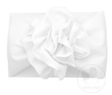 Load image into Gallery viewer, Large Fan Flower Cotton Baby Headband