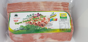A&T - Vegan Smoked Bacon Slices - 500g