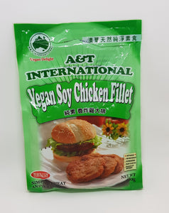 A&T - Vegan Soy Chicken Fillet (Crumbed) - 600g