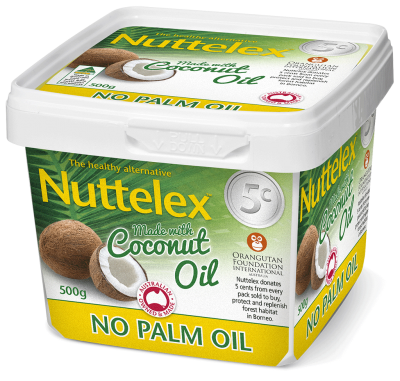 Nuttelex - NO PALM OIL made with Coconut Oil - 500G