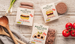 Meatless Farm Co - Plant Based Burgers - 36 Pack