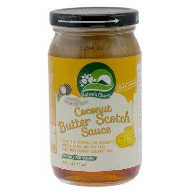 Coconut Butter Scotch Sauce. The Plant Pantry is a Supplier and Distributor of Vegan and Plant Based Food to Sydney Cafes and Restaurants.