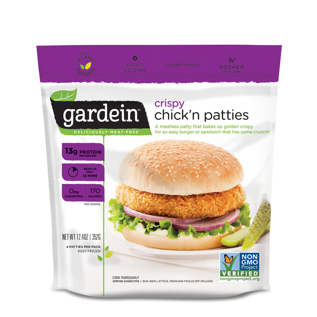 Chick'N Patties 12.4Oz 4Pk