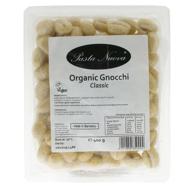Organic Gnocchi Classic. The Plant Pantry is a Supplier and Distributor of Vegan and Plant Based Food to Sydney Cafes and Restaurants.