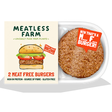 Load image into Gallery viewer, Meatless Farm Co - Plant Based Burgers - 36 Pack
