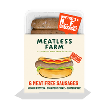 Load image into Gallery viewer, Meatless Farm Co - Plant Based Sausages - 18 Pack