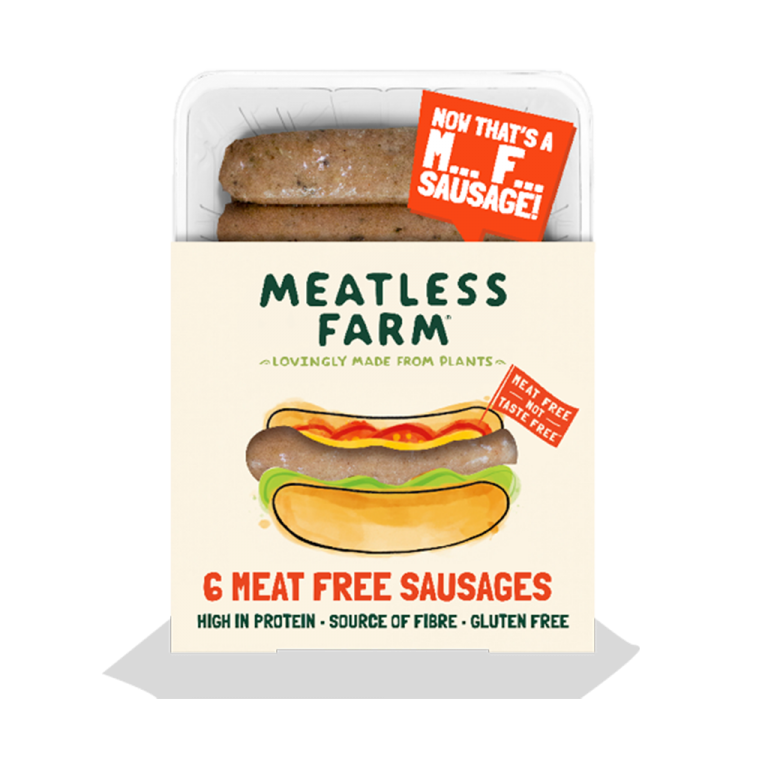 Meatless Farm Co - Plant Based Sausages - 18 Pack