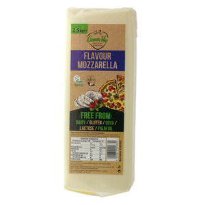 Mozzarella Block JUMBO 2.5kg. The Plant Pantry is a Supplier and Distributor of Vegan and Plant Based Food to Sydney Cafes and Restaurants.