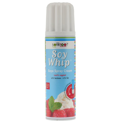Soy Whip Spray Can. The Plant Pantry is a Supplier and Distributor of Vegan and Plant Based Food to Sydney Cafes and Restaurants.
