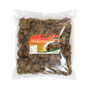 Vegan TVP Beef Slices 1kg