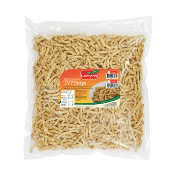 Vegan TVP Strips 500g