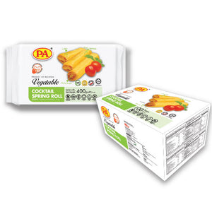 LV Gold  - Vegetable Spring Rolls - 100Pcs