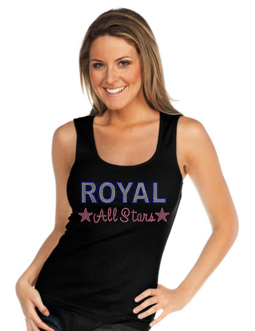 Juniors & Women Beater Tank-royal