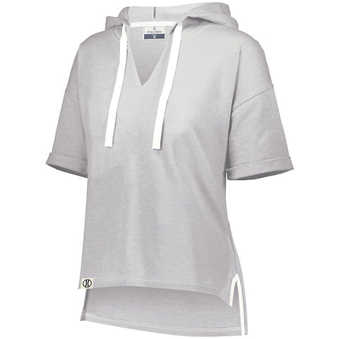 Ladies Sophomore Short Sleeve Hoodie-Knights