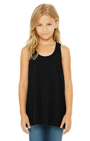 Youth Flowy Racerback Tank-TNT