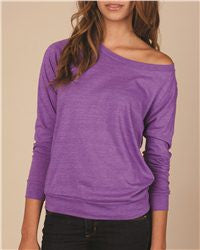 Ladies Eco Jersey Slouchy Pullover-tcll