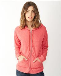 Ladies' Eco-Fleece Adrian Full-Zip Hooded Sweatshirt -EGA